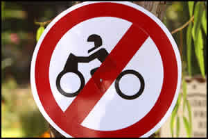 Chinese city bans all motorcycles