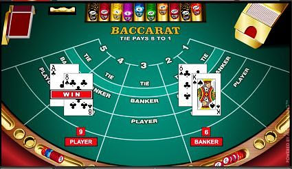How to play online casino baccarat game
