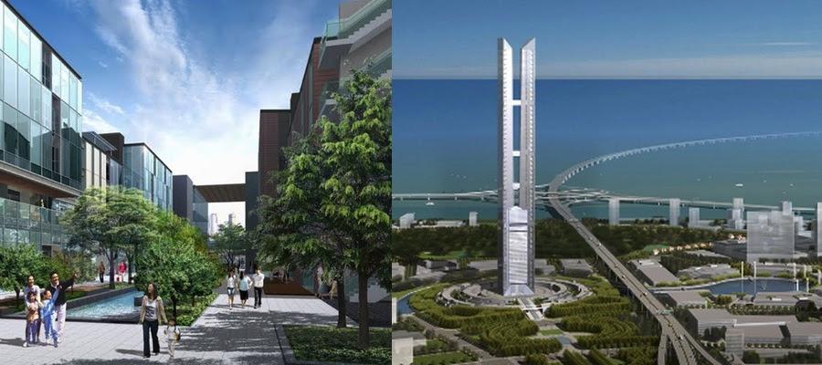 New Sonddo será una ciudad de espacios abiertos que apuesta por la integración con la naturaleza
