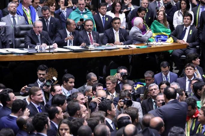 Sessão especial para votação do parecer do Impeachment da presidente Dilma