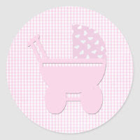 Babycarriagepink sticker