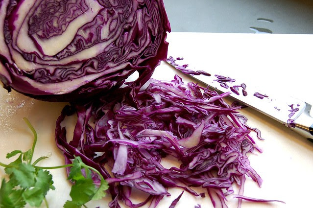 Red Cabbage by Eve Fox, Garden of Eating blog copyright 2011