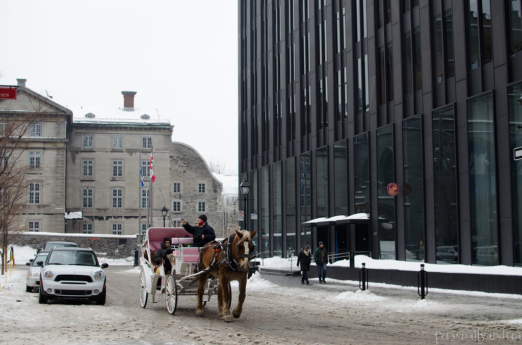 {Old Montreal} Road Trip | Montreal in Winter | personallyandrea.com