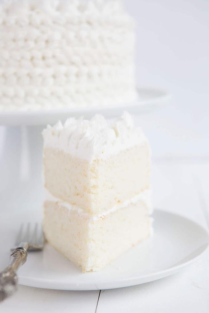 Best Of White Almond Cake Recipe