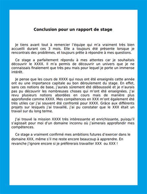rapport de stage prospection commerciale