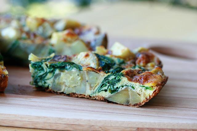 Basque Potato Tortilla - French Fridays with Dorie
