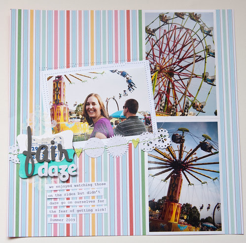 scrapbooking, summer photography, Dear Lizzy, American Crafts