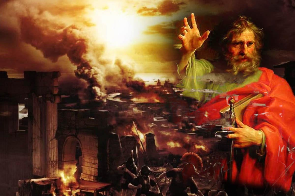 Paul burned Rome