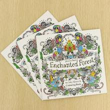 44+ Enchanted Forest Coloring Book Colored Picture HD