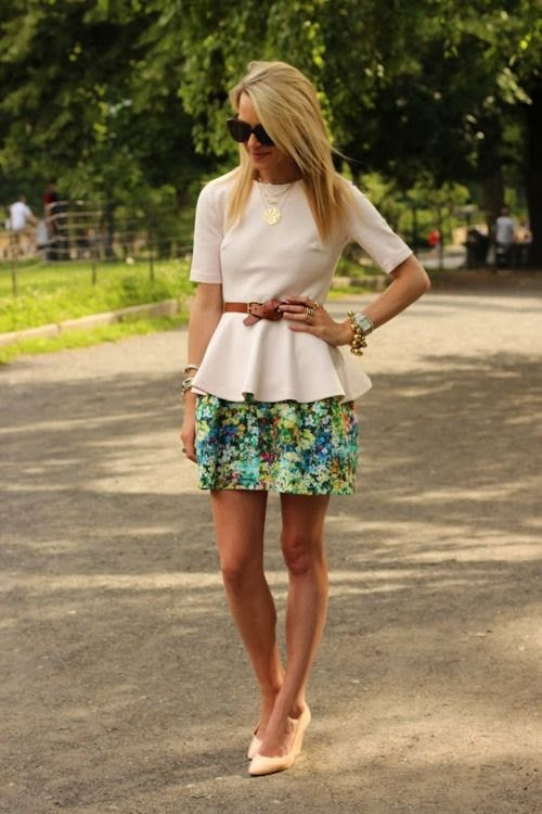 How to wear floral prints this summer