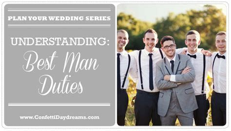 Best Man Duties {Wedding Planning Series}