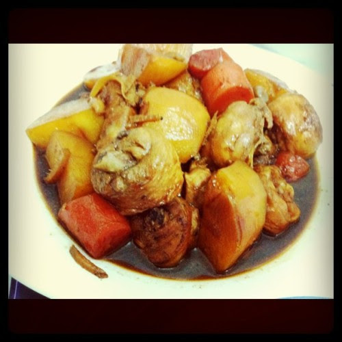 Chicken stew (Taken with instagram)