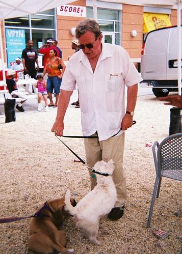 Jim Graham and his Dog