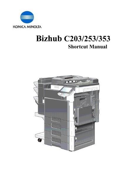 Driver For Minolta Bizhub 250 - Konica Minolta Bizhub C368 Features Drivers Specification Price ...