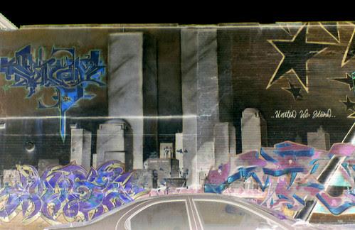 Bronx 9/11 Graffiti Memorial