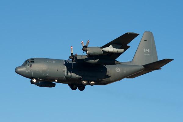 Lockheed CC-130H Hercules (archivo - RCAF)