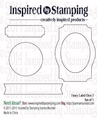 Inspired by Stamping Fancy Labels 3 Die