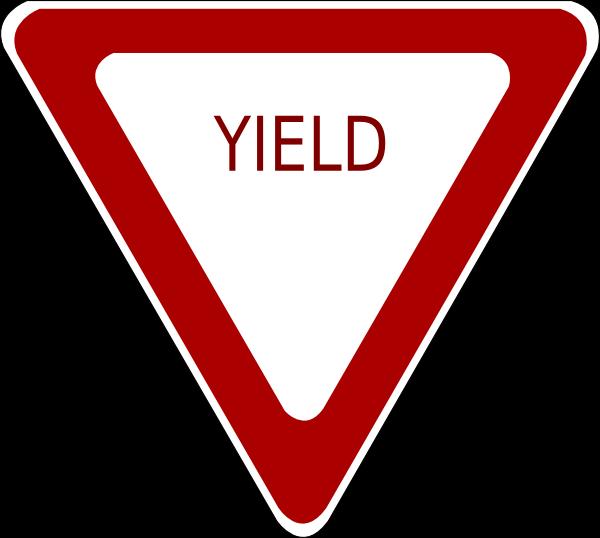 Yield Sign Clip Art at Clker.com - vector clip art online, royalty ...