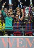 FC Barcelona Wembley Triumph In Pics