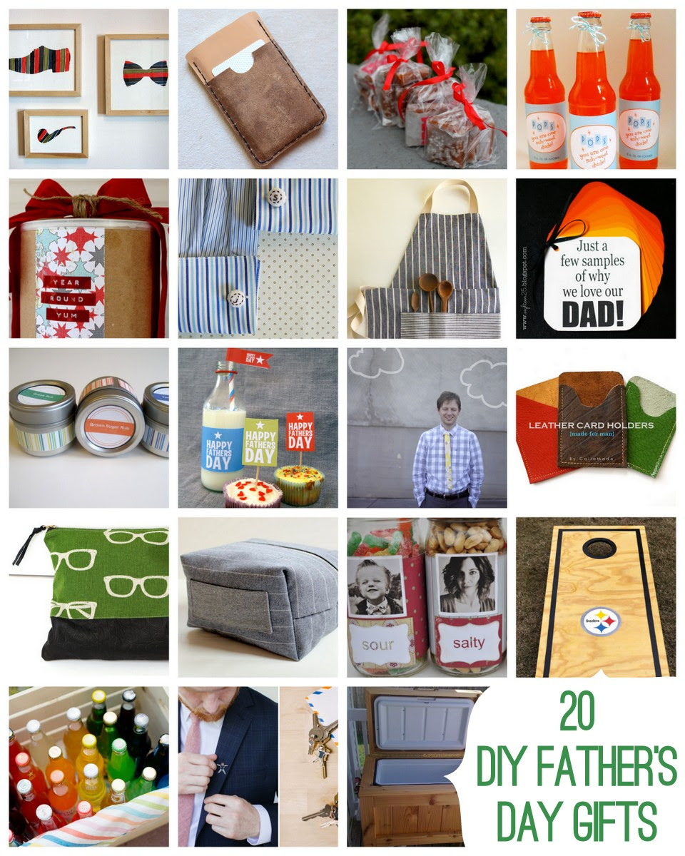 Diy Handmade Fathers Day Ideas