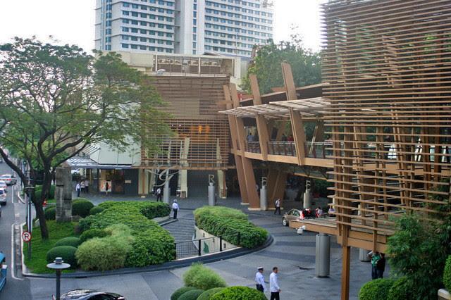 Greenbelt is a high-end shopping complex