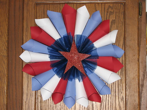 4th of July Star Burst Decoration 015