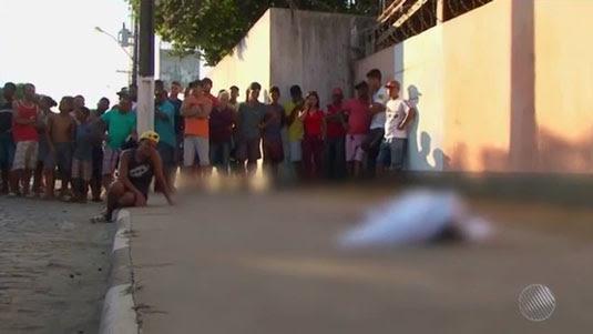 Bahia tem mais de 6 mil mortes violentas em 2017; tipo de crime reduziu no interior do estado | Foto: Reprodução/TV Subaé