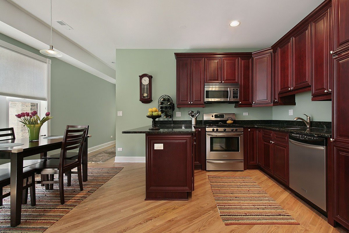 Kitchen Paint Colors with Cherry Cabinets - Home Furniture ...