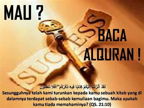 muslim  adanya arti sukses menurut islam