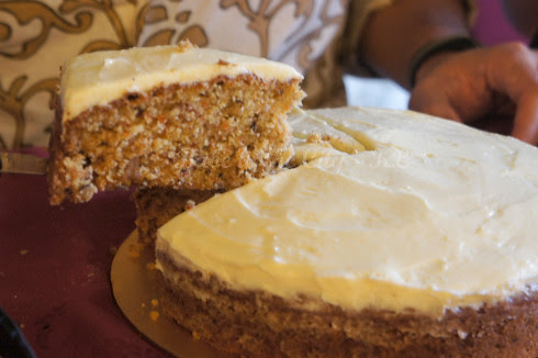 PureGlutton's Carrot Cake