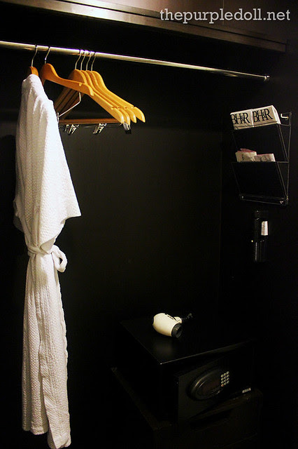 Bellevue Manila Closet with Safe, Hair Dryer, Iron and Bath Robes