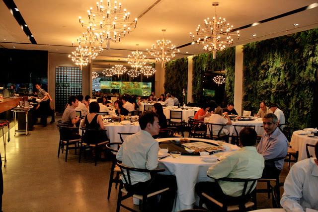 Interior of Palm Beach Seafood