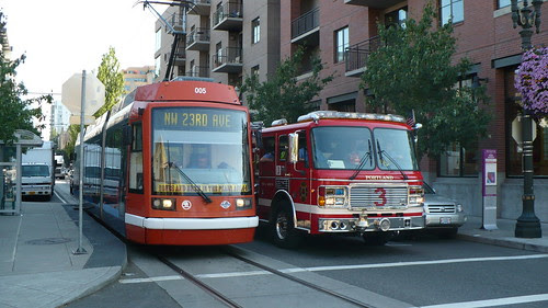 Firetruck Streetcar