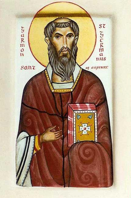 IMG ST. GERMANUS, Bishop of Auxerr