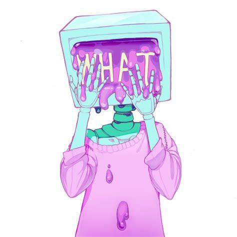 monitor head  tumblr