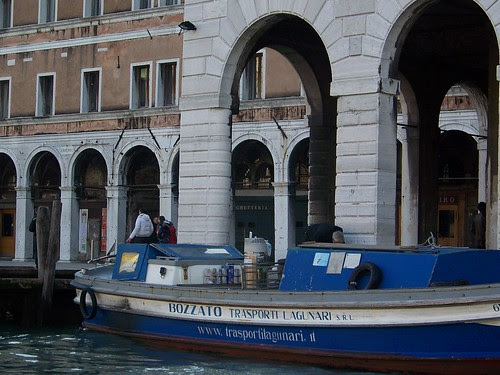 Venice - Delivering The Supplies