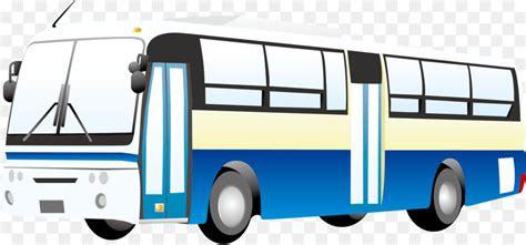 bus public transport cartoon bus vector png