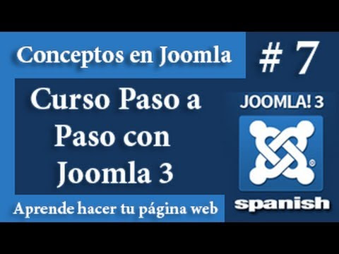 Que son los plugins, componentes y plantilla en Joomla