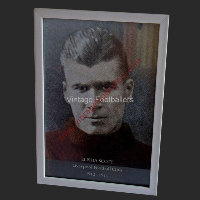 Vintage Footballer Photo Frame 6 X 9 Inches Your Image Vintage