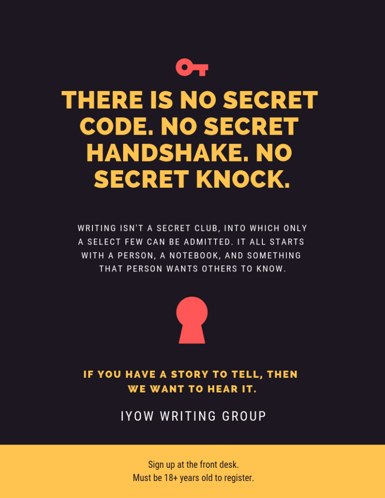 IYOW Writing Group | Grayson County Public Library