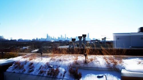 (100E4555) Winter Chicago Skyline (e1)