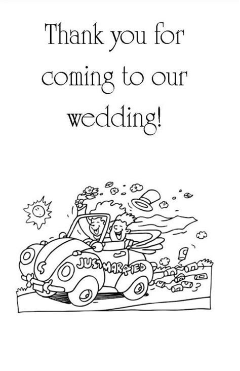 81 best images about Wedding Coloring Book for the kids on