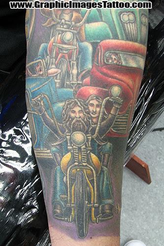 Keyword Galleries: Color Tattoos, Biker Tattoos, Custom Tattoos