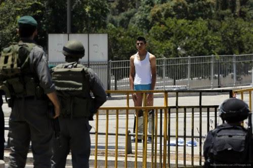 ισραηλινοί-αστυνομικοί-κατά-Παλαιστινίων