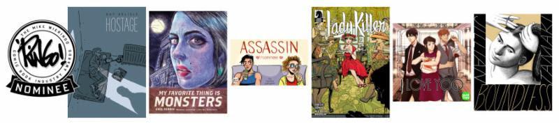 2018 Ringo Awards Best Cartoonist Nominees