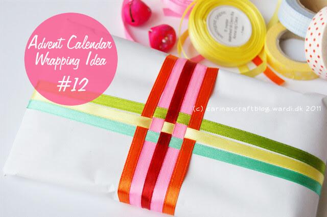 Advent Calendar Wrapping Idea #12