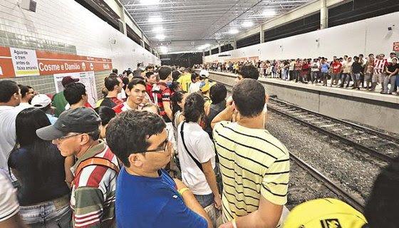 Estação Cosme e Damião - Foto - Teresa Maia DP/D.A.Press