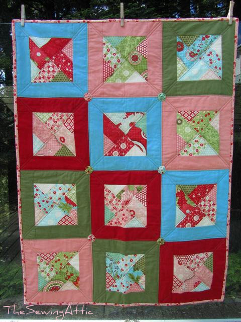 Baby girl Bliss quilt