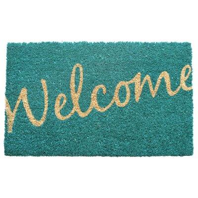 Entryways Sweet Home Cursive Welcome Doormat   Wayfair