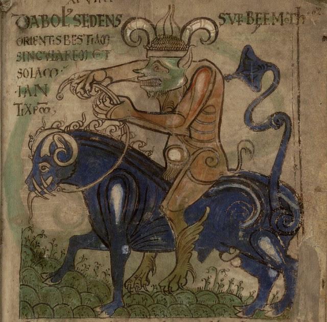 Liber Floridus - devil bull